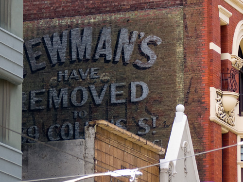 newmans sign
